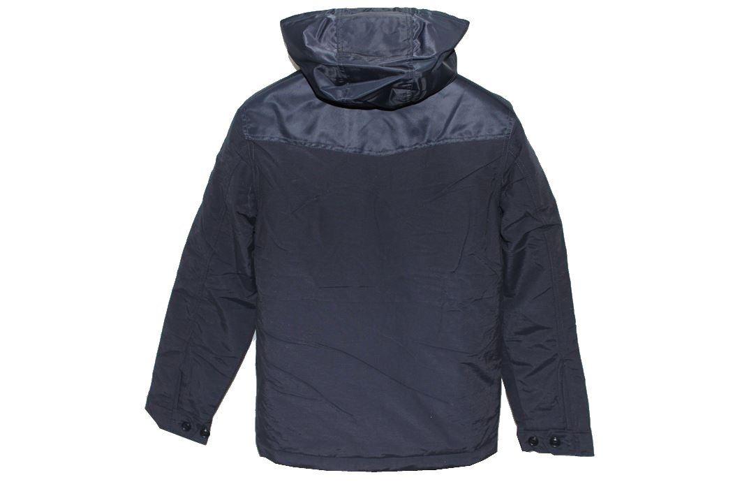 リプレイ REPLAY メンズジャケット アウター ダッフル ネイビー Sサイズ 新品_画像5
