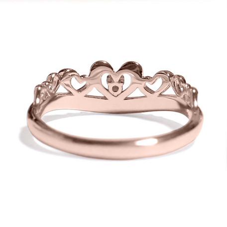 3月の誕生石 アクアマリン シルバーアクセサリー 純銀 シルバー925 リング 指輪 ティアラ レディース 誕生日 プレゼント ギフト BOX付_画像3