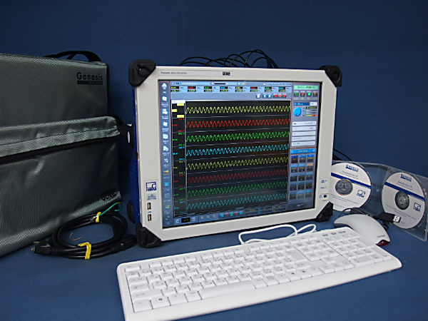 HBM ポータブルデータレコーダ GEN2I-2 GN412-2 100MSs DAQ 中古_画像1