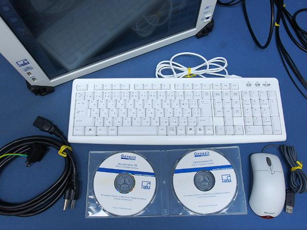 HBM ポータブルデータレコーダ GEN2I-2 GN412-2 100MSs DAQ 中古_画像5
