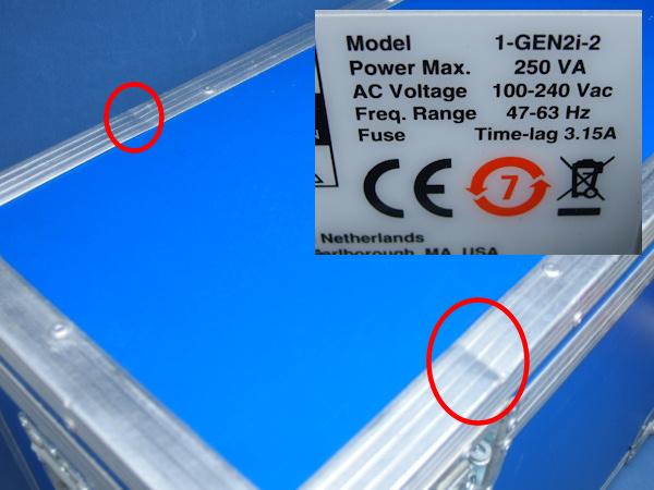 HBM ポータブルデータレコーダ GEN2I-2 GN412-2 100MSs DAQ 中古_画像10