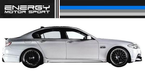 【M's】 BMW 5シリーズ セダン ENERGY トランク スポイラー FRP_画像3