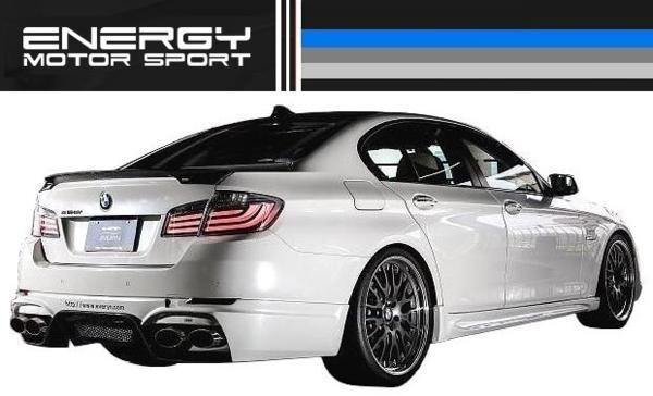 【M's】 BMW 5シリーズ セダン ENERGY トランク スポイラー FRP_画像4