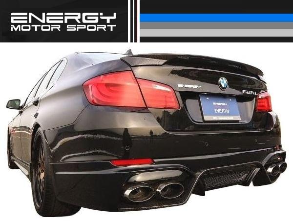 【M's】 BMW 5シリーズ セダン ENERGY トランク スポイラー FRP_画像1