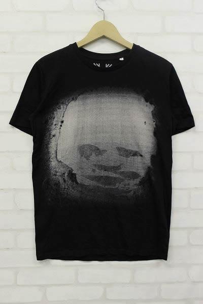 1T5338/RADIOHEAD FACE BLACK TOUR ツアー Tシャツ