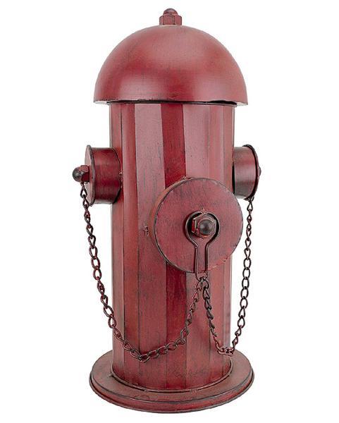 古い年代物の金属製 消火栓 ガーデン彫刻 彫像 大きさ 中型/ Design Toscano Vintage Metal Fire Hydrant Statue, Medium(輸入品)_画像1