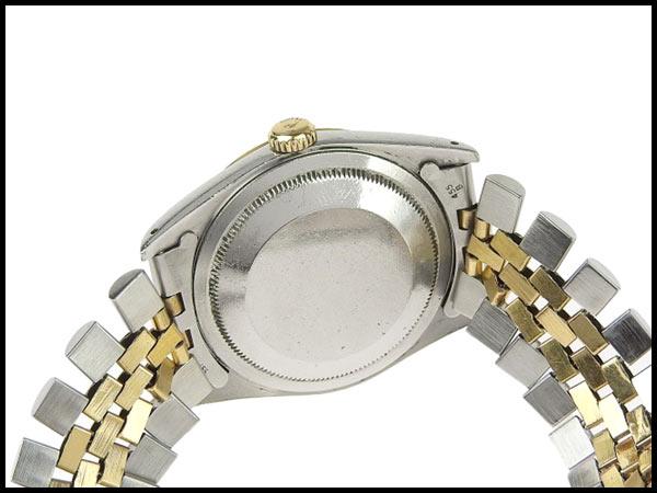 091円☆03楽市☆本物 ロレックス ROLEX デイトジャスト 16233G X番台 メンズ オートマ 腕時計 16233G_画像4