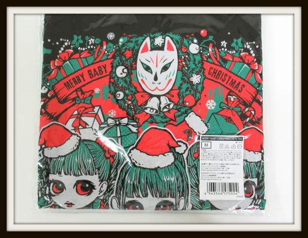新品未開封★BABYMETAL MERRY BABY CHRISTMAS 2015 Tシャツ/M/ギミチョコ クリスマス/日本版/【04_画像2