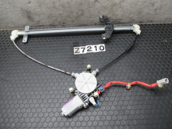 ホンダ ザッツ JD1 AT 左後ウインドレギュレーター パワーウインドモーター H16年  No.Z7210_画像1