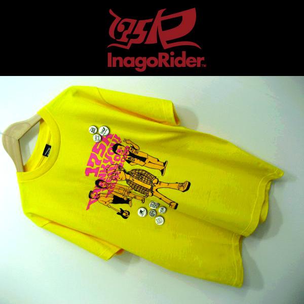 175R/イナゴライダー●半袖/バンT/Tシャツ/tour2010/S[YK3279