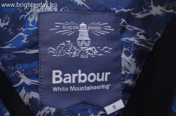■Barbour Beacon White Mountaineering PONCHO CASUAL■_画像4