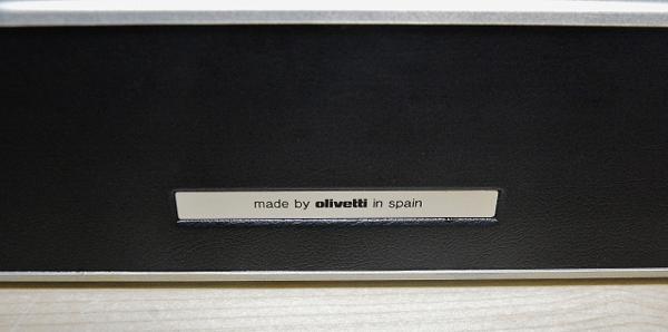 127●○タイプライター Olivetti Lettera DL ケース付 現状品○●_画像5