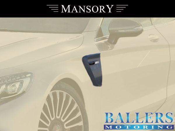 MANSORY BENZ W217 Sクーペ サイドパネル Visible Carbon ( サイド 外装 エアロ )_画像2