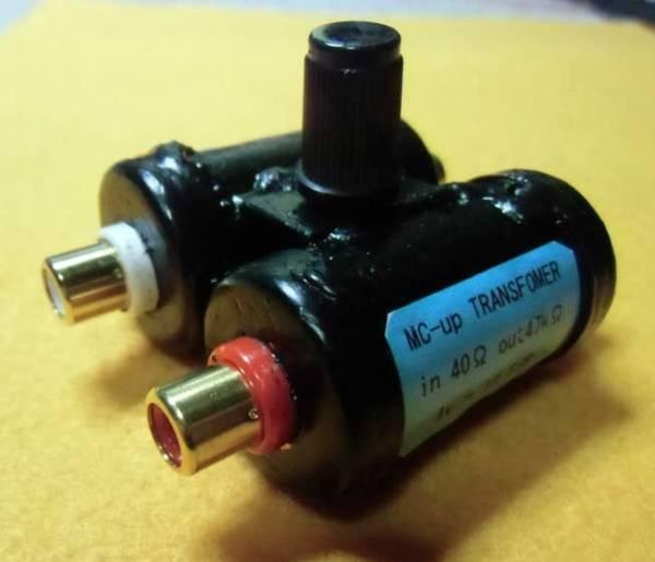 SQ-38FD等に使用できる 手創り MC用 昇圧トランス_画像1