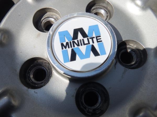 MINI LITE 14x5.5J 5H PCD100 4本 売り切り_画像2