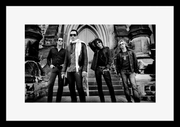 BW:人気ロックバンド!ストーン・テンプル・パイロッツ/Stone Temple Pilots/STP/モノクロ写真フレーム-1