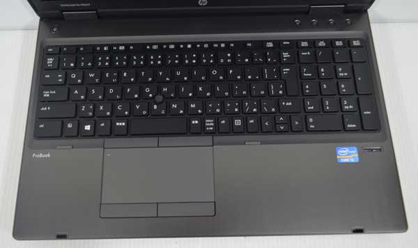 03W8 HP ProBook 6570b Core i5 3210M 4GB 320GB Windows 7 Professional 64bit 高解像度液晶 HD+ 1600x900 WiFi 無線LAN webカメラ 内臓_画像2