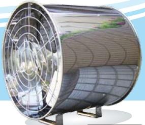 062 ホーグス 温室専用送風機 ファン太 HLF-400 【ハウス環境改善/高温対策/暖房均一化/光合成促進/徒長防止】未使用 ハイアールモーター②