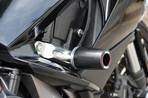 Ninja1000 17~ レーシングスライダー フレームタイプ 左右セットです! 2色あり! AGRAS(アグラス)_ロゴの有無が選べます!