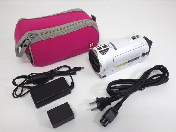 !【14】 Panasonic パナソニック デジタル ハイビジョン ビデオカメラ HC-W850M ホワイト @A762