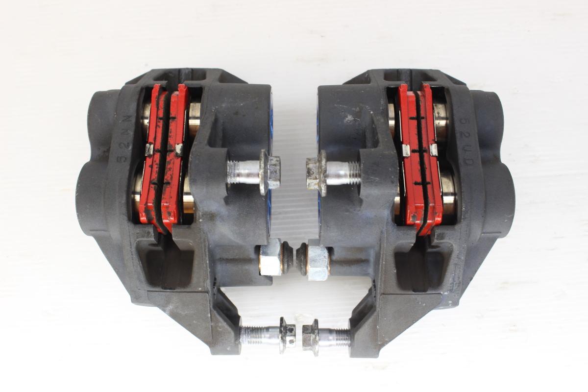 12216 XJR1300 RP03J-0083** 純正 フロントブレーキ キャリパー 左右セット 取り付けピッチ100mm_画像5
