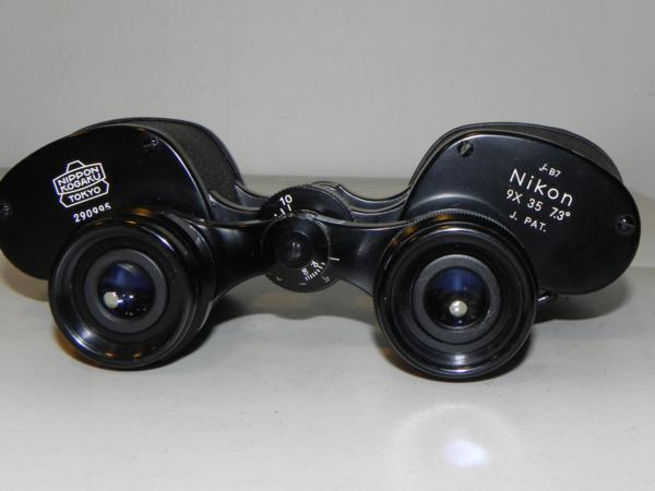 **ジャンク品 Nikon NIPPON KOGAKU 9×35 7.3°双眼鏡_画像3