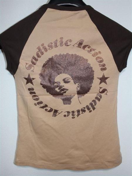 サディスティックアクション SADISTIC ACTION レディース半袖Tシャツ ラグラン Sサイズ 新品_画像3