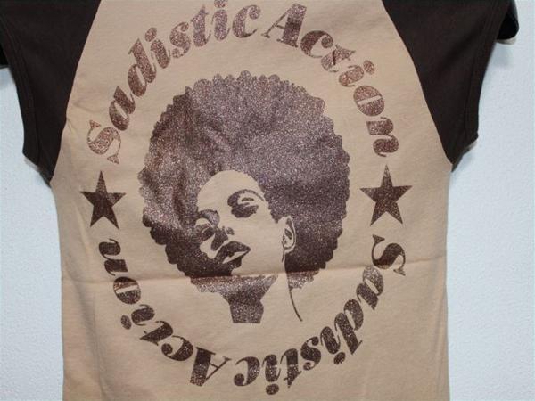 サディスティックアクション SADISTIC ACTION レディース半袖Tシャツ ラグラン Sサイズ 新品_画像4
