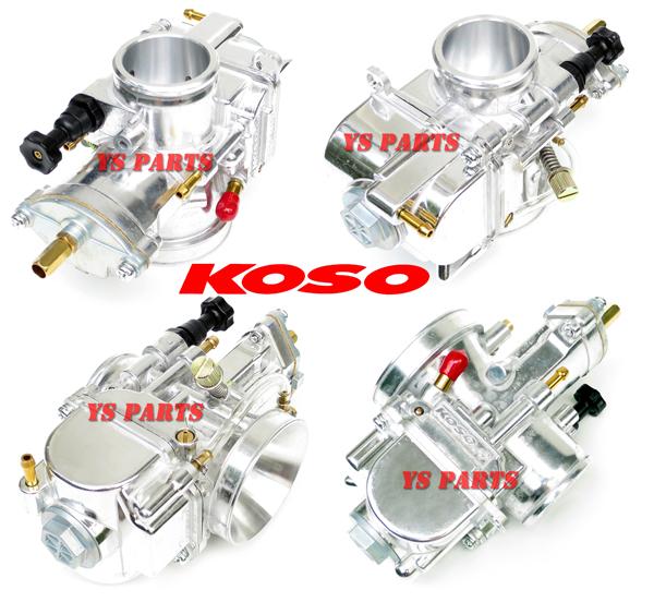 【5段階調整ニードル採用】KOSOパワージェットPWK32ビッグキャブFTR223TW200BW'S100BWS100【キャブ内部ポリッシュ加工処理済】_画像7