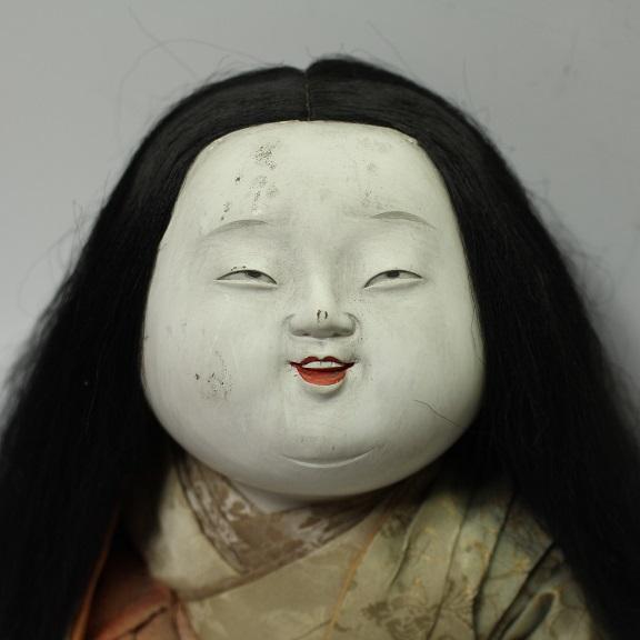 作りの細かな人形 御所人形 0713M1r※_画像2