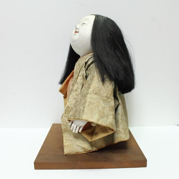 作りの細かな人形 御所人形 0713M1r※_画像3