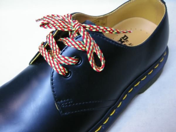 靴紐ドクターマーチン貴重3ホール用ジョージコックスにも可能2_画像2