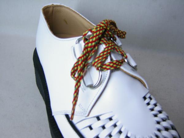 靴紐ドクターマーチン貴重3ホール用ジョージコックスにも可能2_画像3