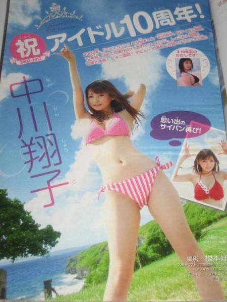 中川翔子さんの水着
