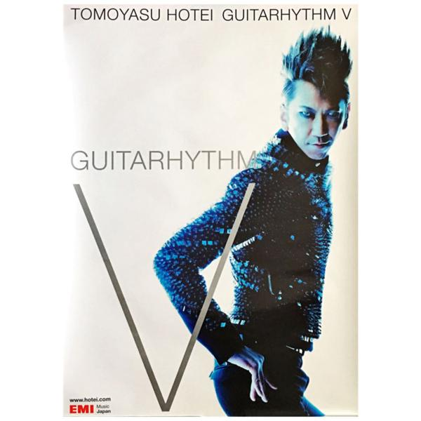 布袋寅泰 ポスター GUITARHYTHM V アルバム 2009 BOOWY ライブグッズの画像