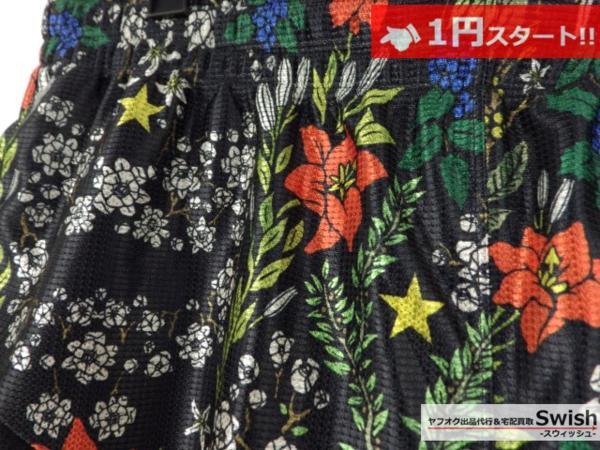 A895●Nike Lab ナイキ x R.T. Riccardo Tisci リカルドティッシ●新品 FLORAL SHORT 花柄ショーツ L 黒●_画像3