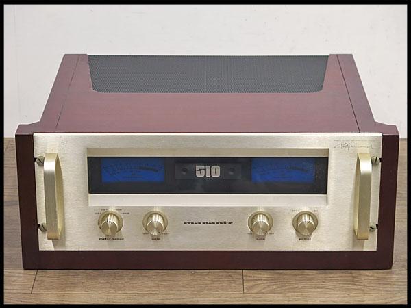 ●marantz/マランツ パワーステレオアンプ P510M パワーアンプ/オーディオ/音響機器/510M/U.S.Aマランツ/プロフェッショナル