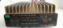 1.9~28MHz350W最大リニアアンプ WSE WL-2000HF TypeS動作もジャンク扱い!