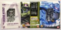 I920★機動戦士ガンダム HCM-Pro ゼータガンダム3号機&ザクII&グフ 3体セット 中古★