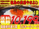 【送料無料】福島県中通り産ミルキ-クイ-ン白米25Kg(25