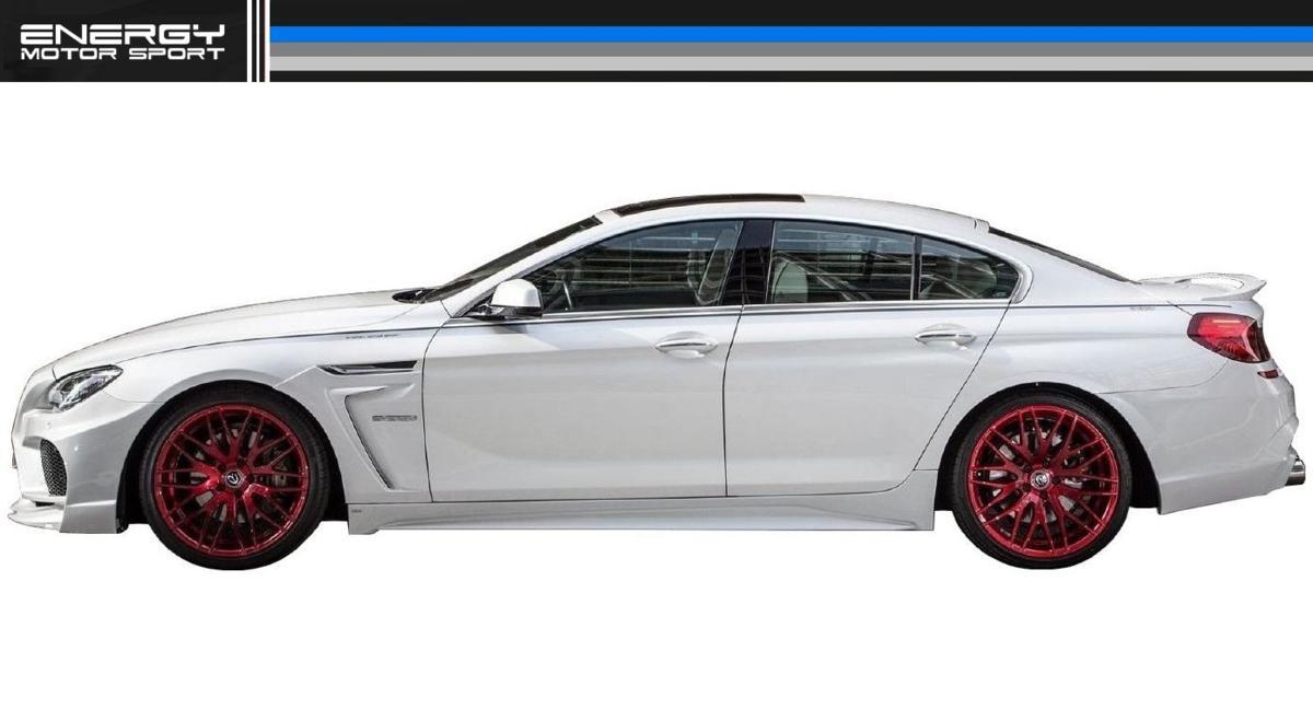 BMW 6シリーズ F12 F13 F06 サイド スポイラー ENERGY MOTOR SPORT エナジー モーター スポーツ エアロ クーペ カブリオレ グランクーペ M6_画像6