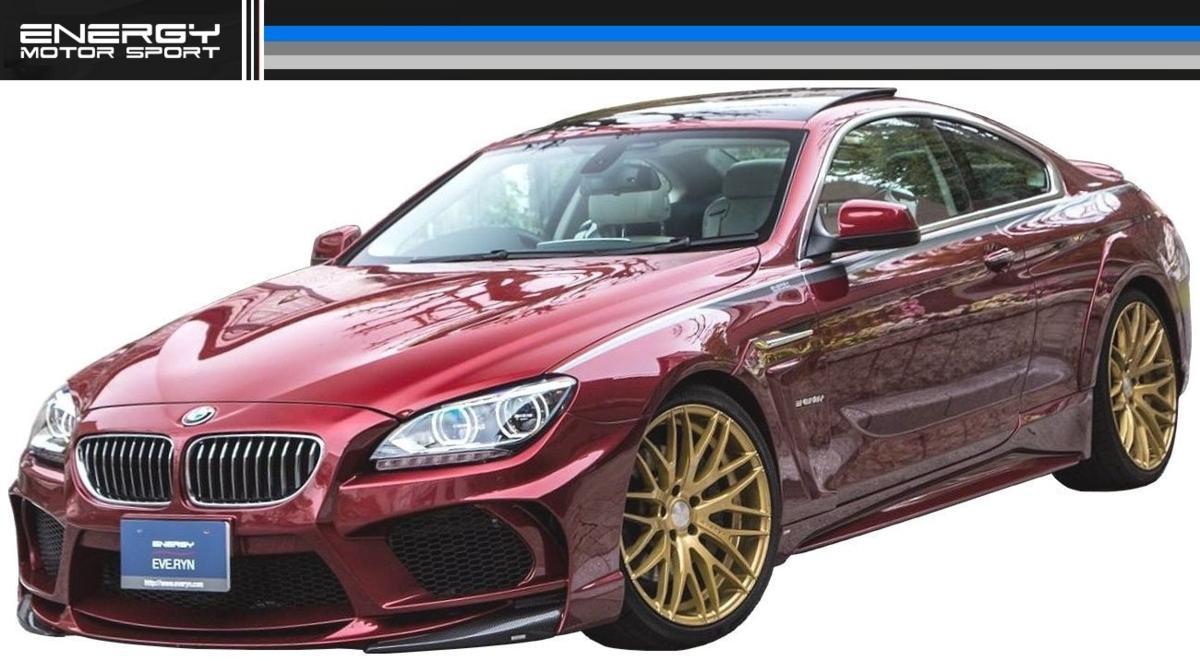 BMW 6シリーズ F12 F13 F06 サイド スポイラー ENERGY MOTOR SPORT エナジー モーター スポーツ エアロ クーペ カブリオレ グランクーペ M6_画像3