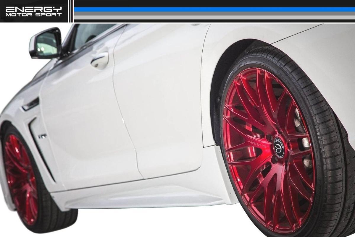 BMW 6シリーズ F12 F13 F06 サイド スポイラー ENERGY MOTOR SPORT エナジー モーター スポーツ エアロ クーペ カブリオレ グランクーペ M6_画像2