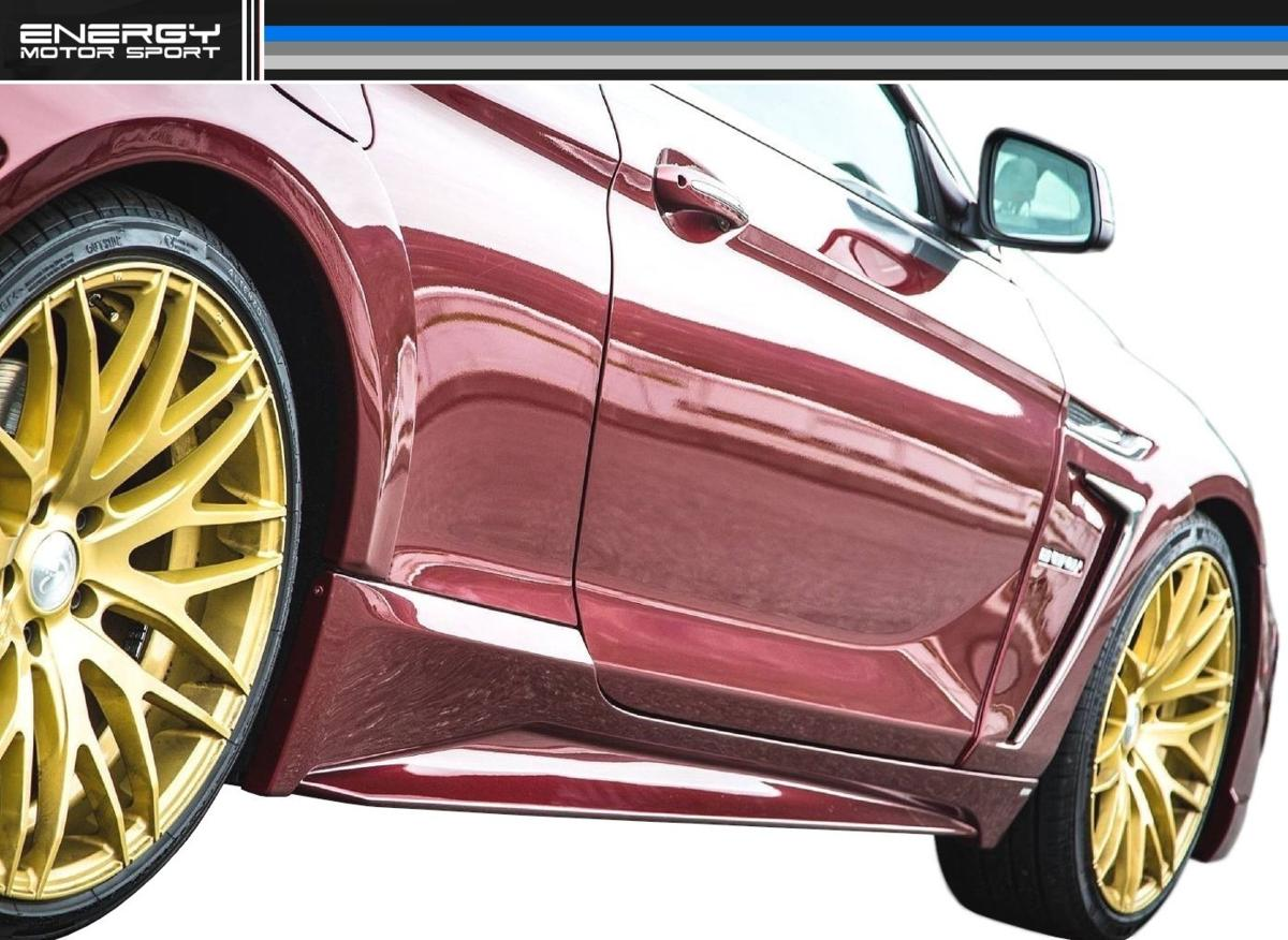 BMW 6シリーズ F12 F13 F06 サイド スポイラー ENERGY MOTOR SPORT エナジー モーター スポーツ エアロ クーペ カブリオレ グランクーペ M6_画像1