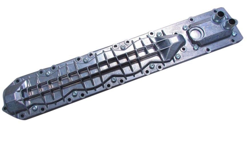 純正品 エンジンオイルクーラー (V12/M137) ベンツ W220 Sクラス W215 CLクラス (137-188-0501)_画像1