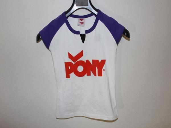 ポニー PONY レディ-スラグランキーネックTシャツ Sサイズ 新品_画像1