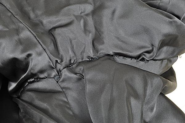 ミンク コート Fサイズ 毛皮 ブラック 中古 送料無料 【J95】MINK BLACK 黒_画像7