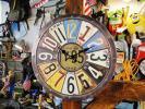 【162616】アメリカン!ヴィンテージ・ナンプレクロック/壁掛時計
