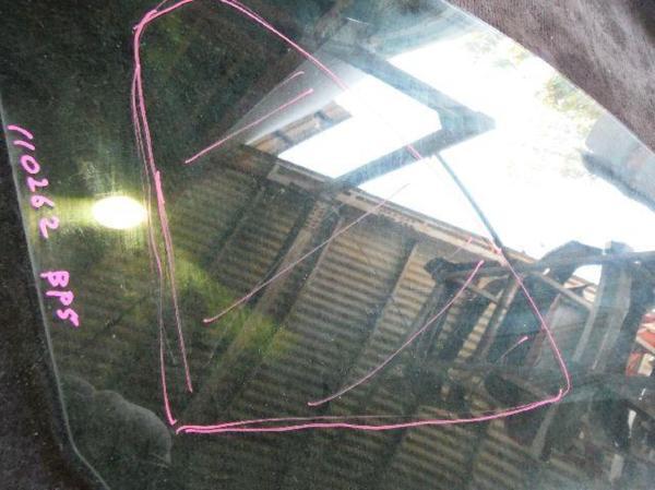 【KAP】110262 レガシィ BP5 右フロントドアガラス_画像3