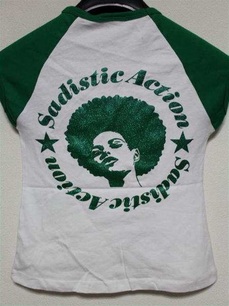 サディスティックアクション SADISTIC ACTION レディース半袖Tシャツ Sサイズ 新品_画像3